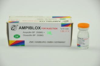 주입 250MG+250MG 항생제 약을 위한 암피실린 클록서실린