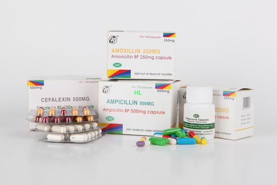 중국 암피실린은 250MG 500MG BP/USP 페니실린 약을 요약합니다 대리점